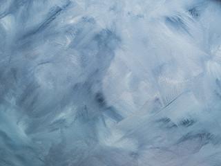 Niebieskie niebo pastelowy kolor malujący textured tło. Pusty streszczenie tło