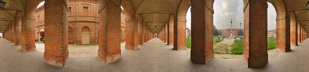 Sabbioneta Galleria degli antichi a 360 gradi