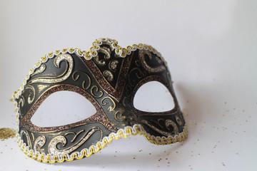 Black Venetian Masquerade eye mask