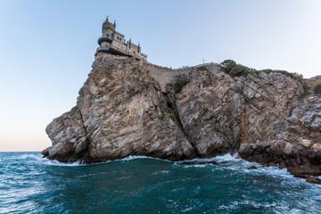 Swallow's Nest castle. Symbol of Crimea