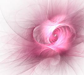 fractal pink web