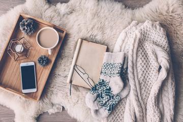 Winter weekend concept