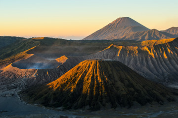 Sunrise on the volcano Bromo - Java, Indonesia.