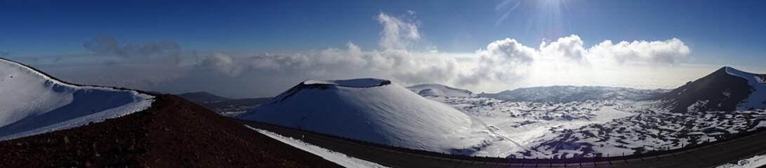 Mauna Kea Vulkan, Big Island, Hawaii. Traumhaft schön...