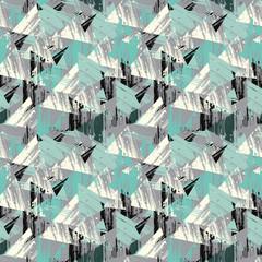 Triangular seamless background. Seamless geometric pattern.