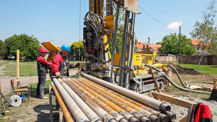 Drilling Geothermal Well