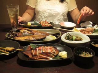 海鮮料理 大食い者