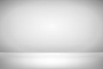 Wewnętrzna przestrzeń pudełka. Pusty biały pokój. Ilustracji wektorowych projektowania. Przygotuj dla ciebie projekt biznesowy