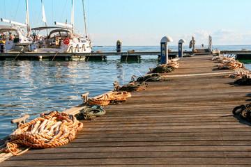 marina żeglarska - port