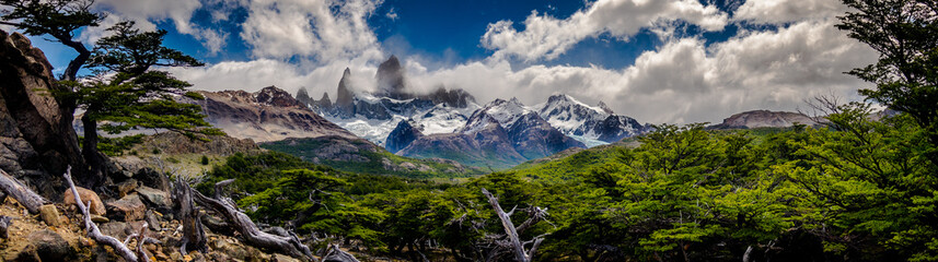 Fitzroy in Argentina, Patagonia.