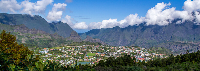 Cirque de Cilaos na wyspie La Reunion
