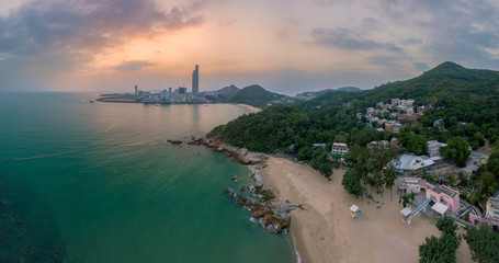 Coal-fired power station in Lamma Island, Lamma Island is a fishing village and A natural attraction The tourists are very popular.