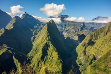 Cirque de Mafate na wyspie La Reunion
