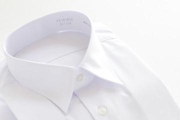 white shirt on white background