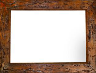 foto de un marco de madera