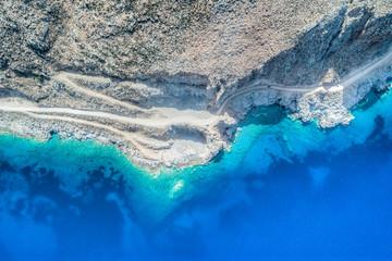 blue coastline
