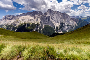 Dolomiti mountain panorama