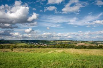 Saarland – Landschaft bei Bliesransbach Natur Landschaft im Sommer