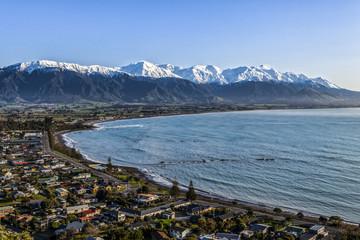 Kaikoura, New Zealand in Early Morning