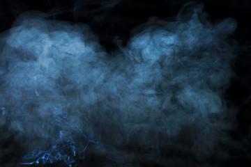 texture, smoke on black background