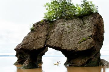 Hopewell Rocks - Nowy Brunszwik - Kanada