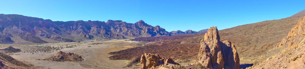 Desert in highland of Tenerife