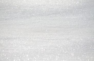 White sparkling snow as background for design