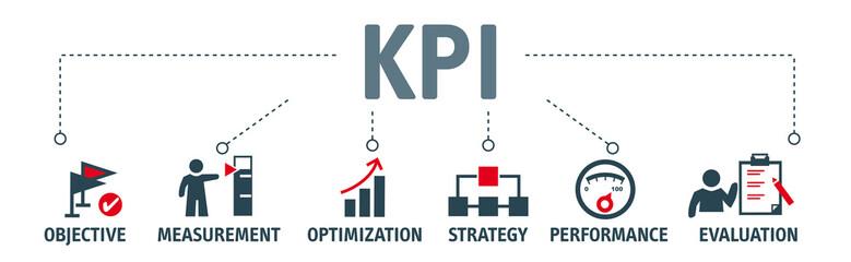 Key Performance Indicator concept vector illustration