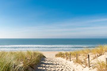 CAP FERRET (Bassin d'Arcachon, France), la plage des Dunes