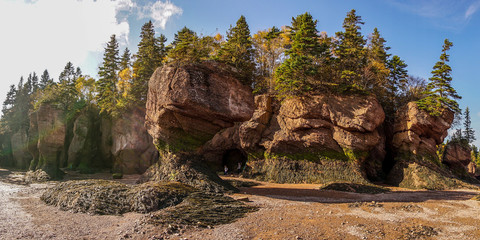Bay of Fundy in East Canada.