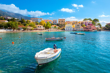 Kefalonia Assos Village in Cephalonia Island, Greece