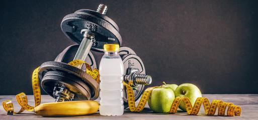 Fitness Sport (tło treningu siłowego)