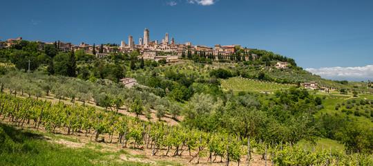 San Gimignano countryside, Tuscany