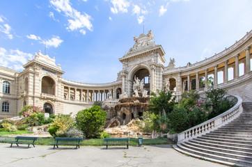Palais Longchamp in Marseille, France