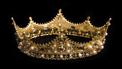 A King or Queen's Golden Crown