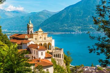 Kościół Madonna del Sasso, Locarno, Szwajcaria