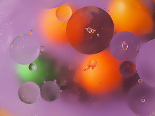 juicy beautiful color abstract background. macro shot