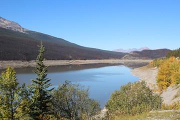 South End Of Medicine Lake, Jasper National Park, Alberta