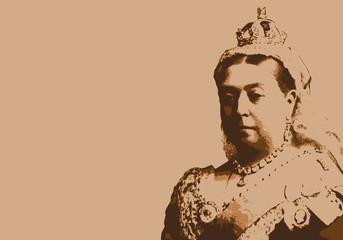 Reine Victoria - reine - portrait - reine d'Angleterre - personnage historique - Britannique - Royaume-Uni