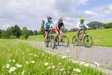 raus in den Frühling zum Biken