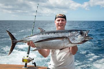 Trofeum połowów tuńczyka