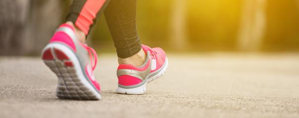 Fitness woman jogging