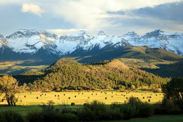 San Juan Mountains, Ridgeway, Colorado, USA.