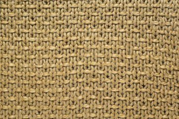Knit Texture of Wool Knitted Fabric with Regular Pattern. Knit Sweater Texture