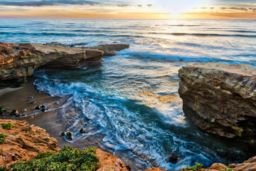 Pappy's Point at Sunset Cliffs