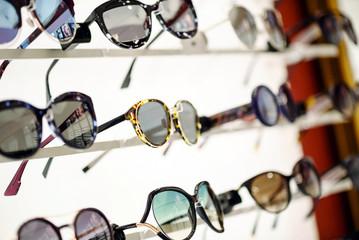 sunglasses in the shop