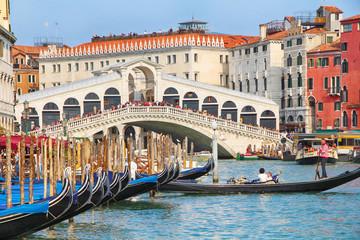 Most Rialto w Wenecji