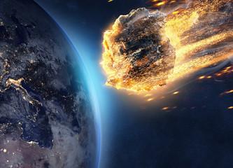 Asteroida leci w kierunku Ziemi