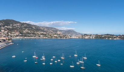 Roadstead of Villefranche-sur-mer, French Riviera