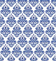 ceramic blue pattern